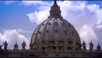 Dome of St. Peters Basilicia