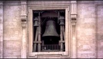 Bell tower at St. Peters basilica