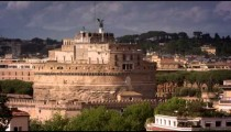 Footage of Castle Sant'Angelo