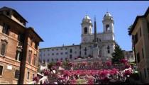 Trinita dei Monti and Spanish Steps