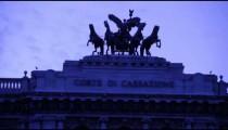 Close up shot of Corte di cassazione.