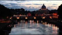 View of canal in front of San Pietro in Vatican City