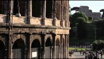 Exterior arches of the Colosseum