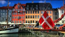 Denmark stock footage 34