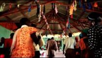 KENYA-C.2012 Footage of people singing, dancing during worship services in Kenya, Africa c.2012