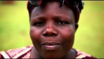 KENYA-C. 2012 Headshot of an adult African woman in Kenya, Africa c.2012