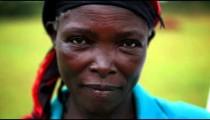 KENYA-C. 2012 Headshot of a mature African woman in Kenya, Africa c.2012