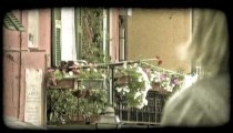 Italian Homes 4. Vintage stylized video clip.