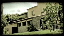 Italian home 7. Vintage stylized video clip.