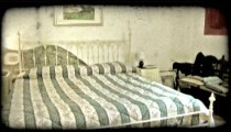 Italian home 10. Vintage stylized video clip.
