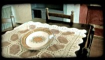 Italian home 3. Vintage stylized video clip.