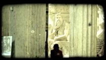 Cathedral Art 11. Vintage stylized video clip.