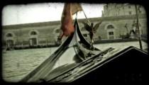 Gondola 44. Vintage stylized video clip.