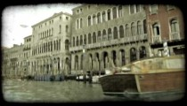 Gondola 43. Vintage stylized video clip.