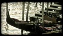 Gondola 40. Vintage stylized video clip.