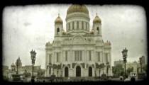 Church of Christ ..2. Vintage stylized video clip.