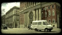 Russian government. Vintage stylized video clip.