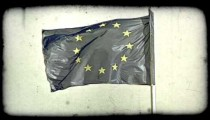 Vienna Flag 2. Vintage stylized video clip.