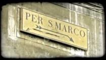 Per S. Marco. Vintage stylized video clip.