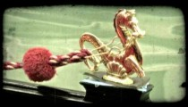 Gondola Gold Dragon 1. Vintage stylized video clip.