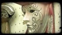 Italian Masks 3. Vintage stylized video clip.