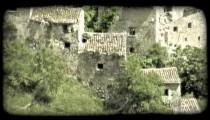 Italian Town 17. Vintage stylized video clip.