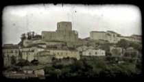 Italian Town 12. Vintage stylized video clip.