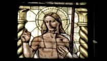 Cathedral Art 24. Vintage stylized video clip.
