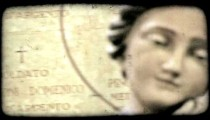 Cathedral Art 23. Vintage stylized video clip.
