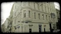 Vienna Street. Vintage stylized video clip.