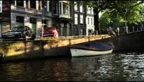 Shot of Herengracht Street in Amsterdam