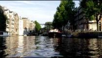 Shot of Amsterdam cityscape