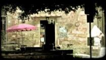 Italian Shop 4. Vintage stylized video clip.