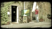 Italian Shop 2. Vintage stylized video clip.