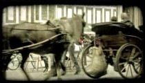 Italian Carriages 1. Vintage stylized video clip.