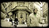 Italian street 1. Vintage stylized video clip.