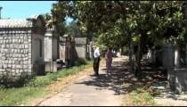 Lafayette Cemetery Visitors zoom 2