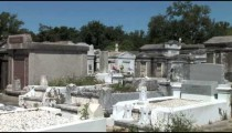 Lafayette Cemetery Graves zoom
