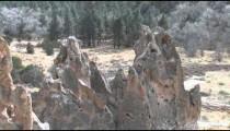Anasazi Village Ruins Hoodoos pans