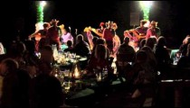 Mexican Dancers Dinner Crowd
