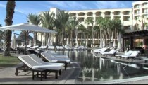 Cabo Resort Pool Lounges