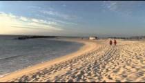 Cabo Beach Walkers at Dawn