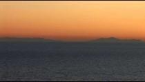 Straits of Gibralter at Dusk zoom