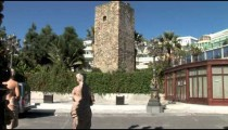 Puerto Banus Moorish Monument tilts
