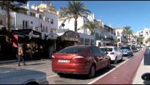 Puerto Banus Front Street zooms