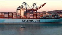Port of Malaga Ocean Freighter zoom