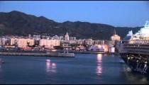 Port of Malaga Dawn zoom 3
