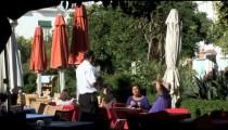 Marbella Plaza Cafe Waiter