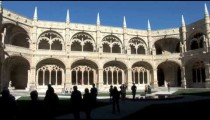 Jeronimos Monastery Courtyard zoom pans