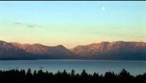 Lake Tahoe Full Moon Dusk
